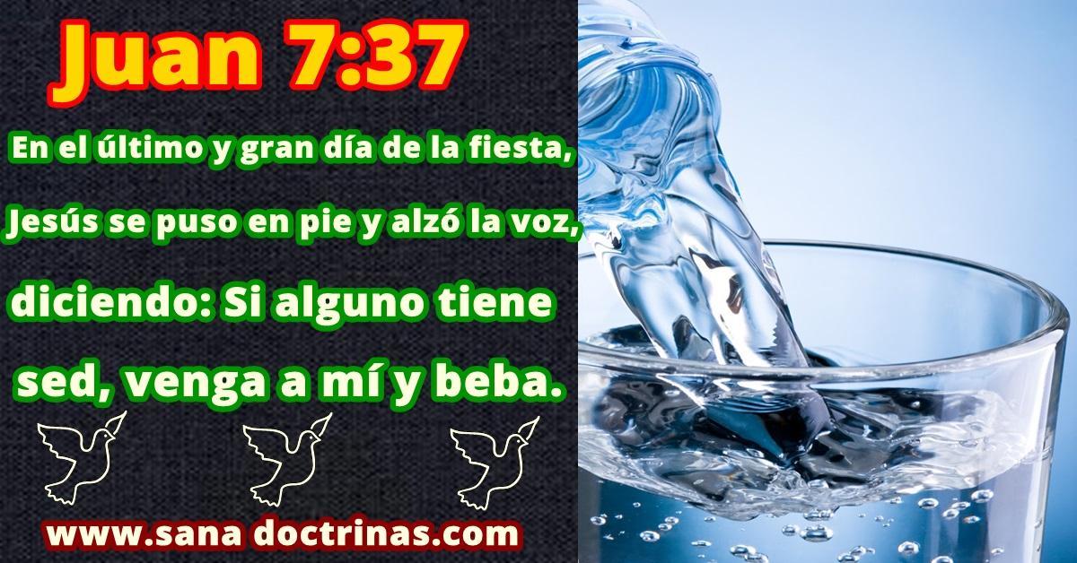 Tener sed de la vida (Juan 7:37)