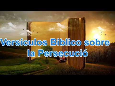 Vídeo - Versículos de la Biblia sobre la Persecución