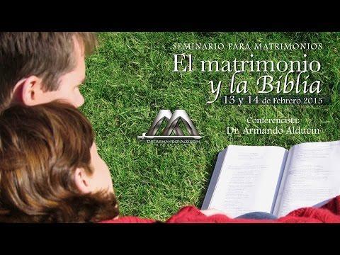 Armando Alducin - EL MATRIMONIO Y LA BIBLIA 1RA PARTE [HD]