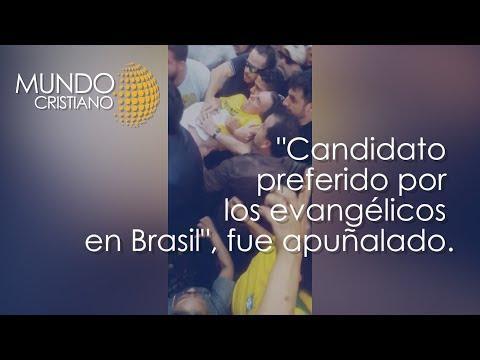 Noticias Cristianas - Jair Bolsonaro sufrió incidente en Brasil