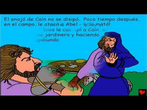 Historias Bíblicas Para Niños  - Comienzo De La Tristeza Del Hombre   - Antiguo Testamento
