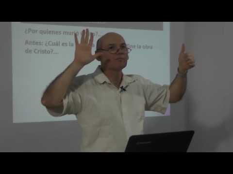 Pr. Sergio Ruiz - Doctrina de la Expiación Limitada - Serie: Confesión de Fe Bautista 1689