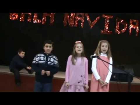 Los Niños De  Iglesia Betania Isla Cristina Cantando El Espiritu De Dios