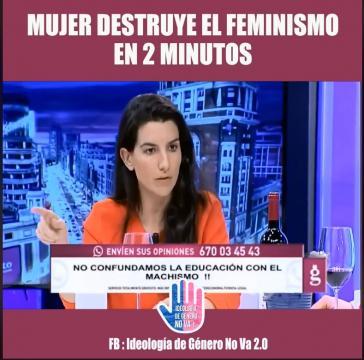 Mujer Destruye el Feminismo en 2 Minutos