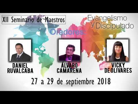 Invitación - Seminario de Maestros 2018 - Evangelismo y Discipulado