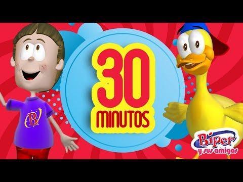 Canciones Infantiles cristianos - 30 Minutos Biper Y sus Amigos
