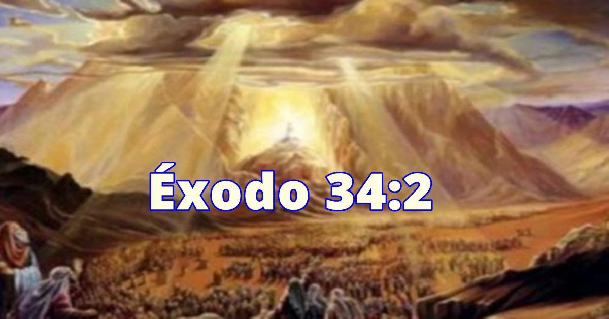 Prepárate para la mañana - Éxodo 34:2