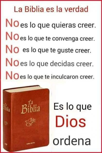 La Biblia es la verdad - Imágenes Cristianas