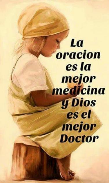 La oración es la mejor medicina