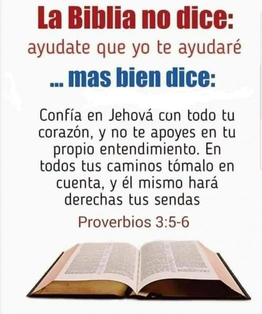 Reconoce a Dios en todos tus caminos