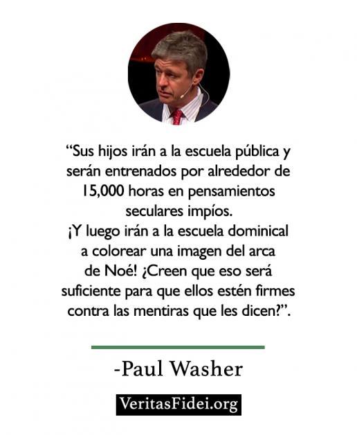 Tus hijos irán a escuelas públicas - Paul Washer