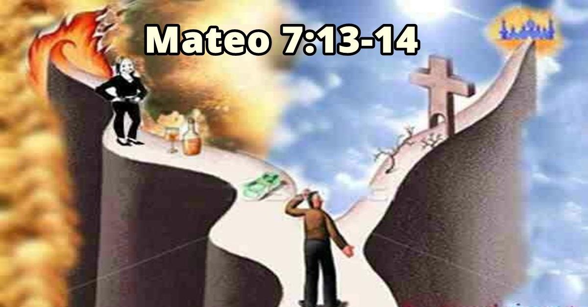 El camino estrecho de la fe / Mateo 7:13-14