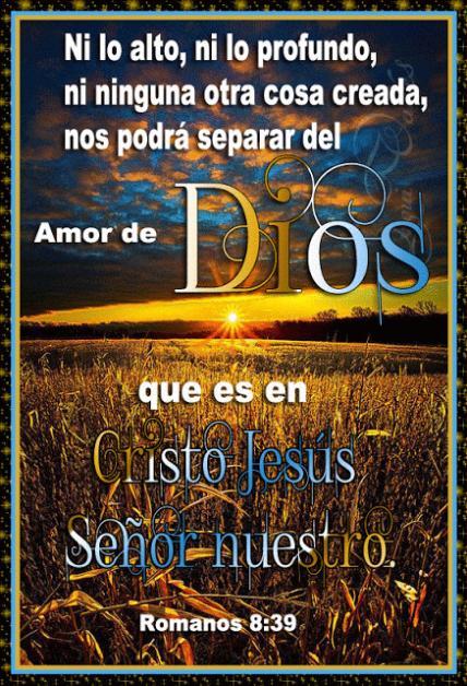 Nada puede separarnos del amor de Dios - Romanos 8:39