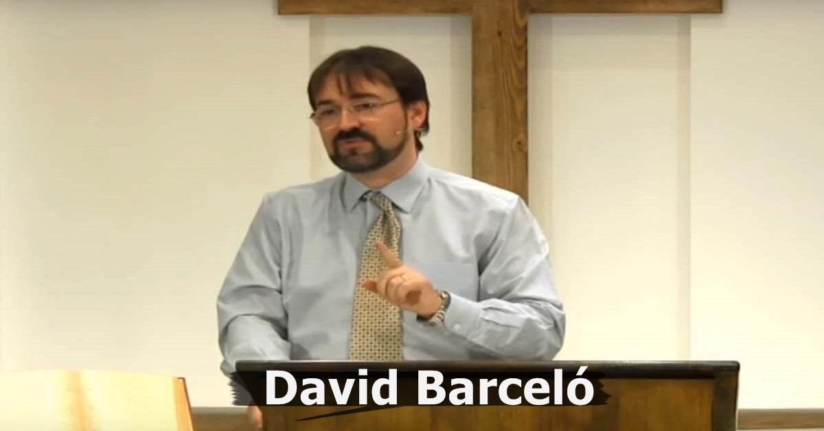 Homosexualidad o Cristo - David Barceló