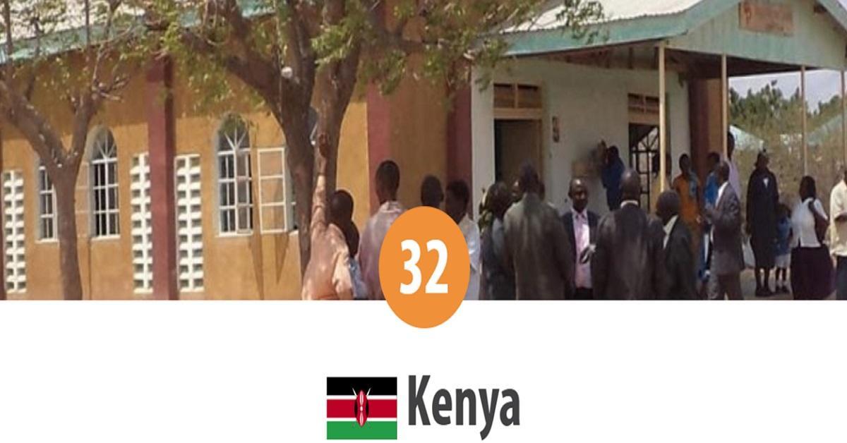 Kenia: 32 ° lugar en el Top de la persecución mundial