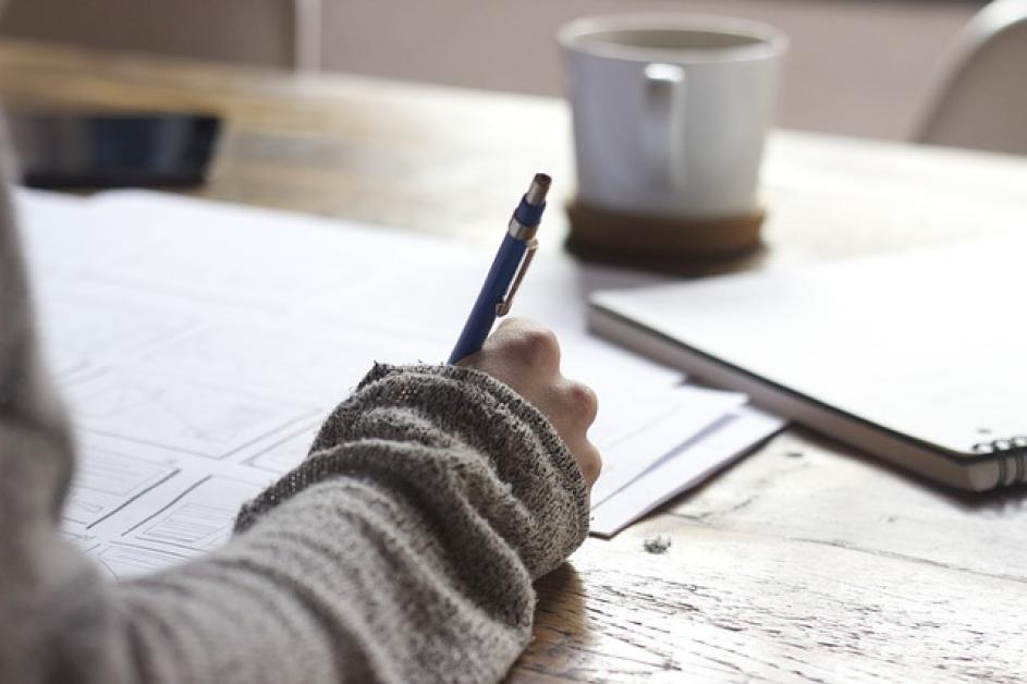 Escribir las Escrituras puede ser bueno para el alma