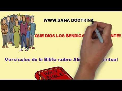 VIDEO - Versículos de la Biblia sobre Alimento Espiritual