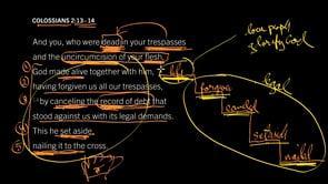 Colossians 2:13–14 // The Heart of the Christian Faith