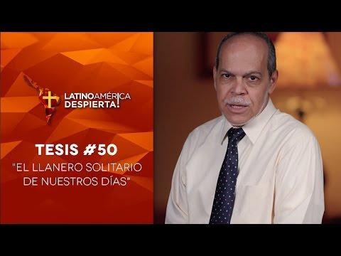 Miguel Núñez -  El llanero solitario de nuestros días - Tesis - 50