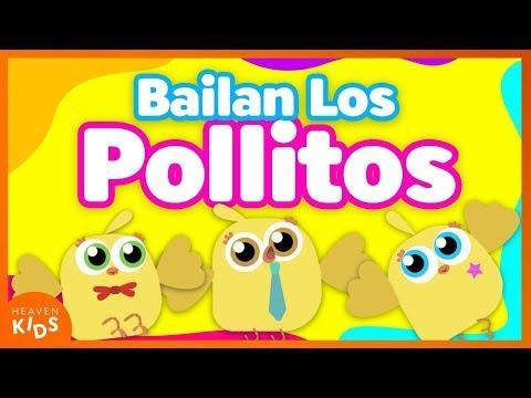 Bailan Los Pollitos | Mr. Pepe Cruz -  Canciones Infantiles cristianos