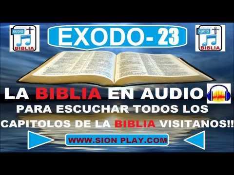 La Biblia Audio(Exodo-23)