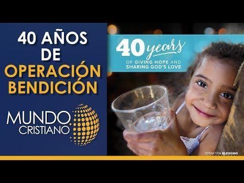 Operación Bendición cumple 40 años de llevar el amor de Dios a todo el mundo mediante la atención de