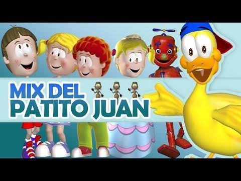 Canciones Infantiles Cristianas  - Media Hora Con El Patito Juan y Sus Amigos