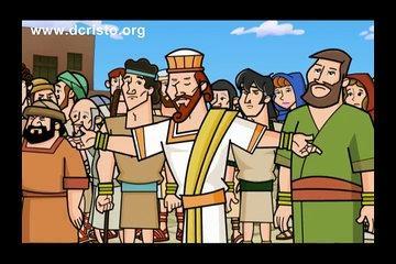 La Coronación de Roboam - Pablito El Pequeño Misionero