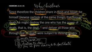 Hebrews 2:14–15 // Why Christmas?