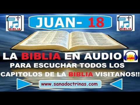 Evangelio Según JUAN - Biblia En Audio  - Capitulo 18
