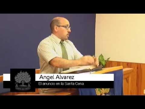 El anuncio de la Santa Cena - Ángel Álvarez