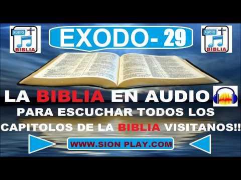 La Biblia Audio(Exodo-29)