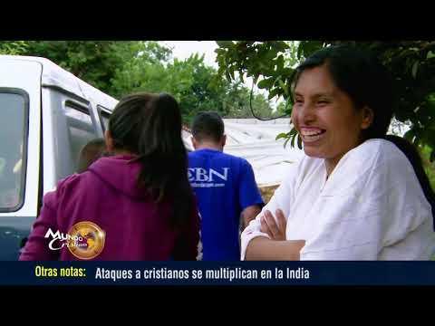 Voluntarios cristianos ayudando a damnificados por los terremotos en México