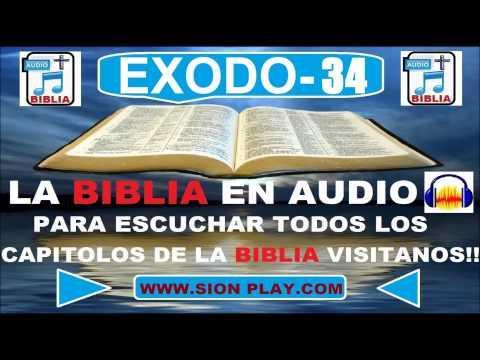 La Biblia Audio(Exodo-34)