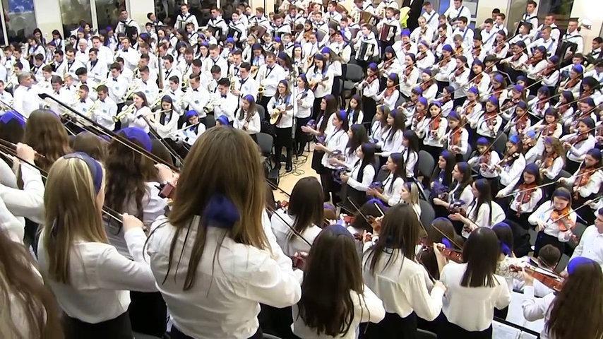"""Orchestra națională AMIUNA Dir.""""O ce veste minunată"""" / coordonator Nelu Pagu"""