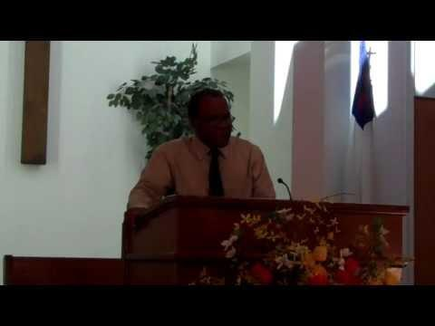 Pastor Rolando Díaz - Jesucristo como el buen pastor de sus ovejas
