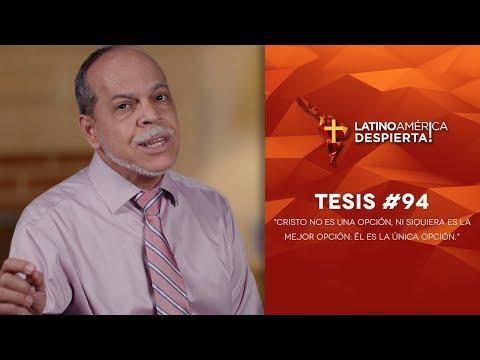 Miguel Núñez - Tesis - 94 - Cristo no es una opción, ni siquiera es la mejor opción: Él es la única