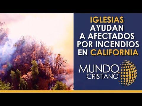 Iglesias brindan una mano a damnificados tras incendios en California