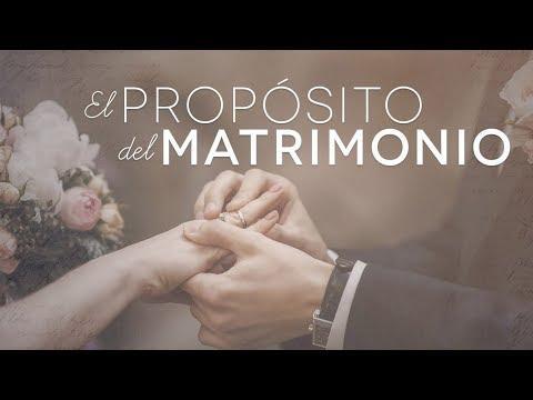 pastor Héctor Salcedo - El propósito del matrimonio