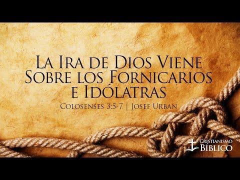 Josef Urban- La Ira De Dios Viene Sobre Los Fornicarios E Idólatras