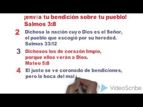 10 Versículos De La Biblia Sobre La Bendición -Video