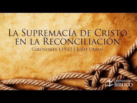 Josef Urban- La Supremacía De Cristo En La Reconciliación