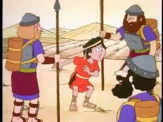 La historia de David y Goliat - Mi Pequeña Biblia Capitulo 7