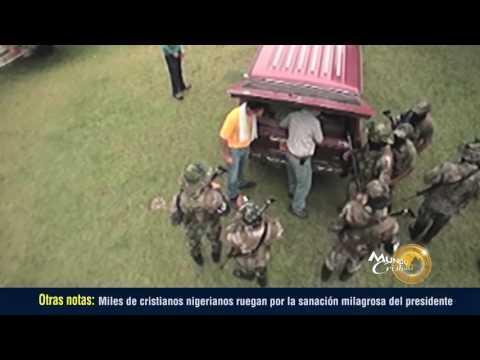 Martín Stendal recibe un premio por su labor evangelística con las FARC