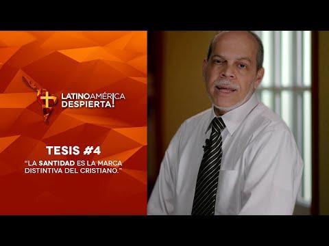 Pastor Miguel Núñez - Tesis -4 - La Santidad Es La Marca Distintiva Del Cristiano.