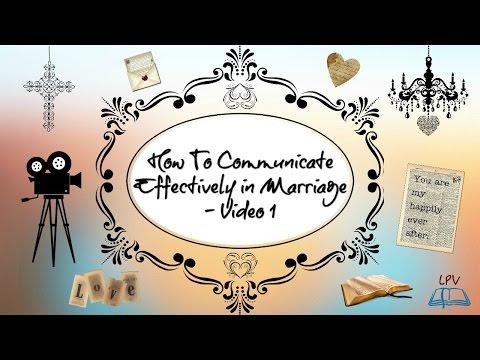 How To Communicate Effectively In Marriage - Video 1  - Kaynee Correoso