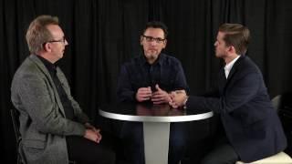 Andrés Birch, Sergio Villanueva, y Luis Núñez - conversan sobre adoración bíblica.