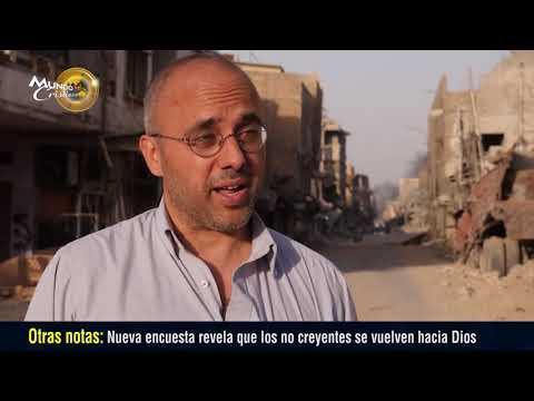 Creyentes en Irak tiene la fe de que Mosul se recupere de la destrucción que dejó ISIS