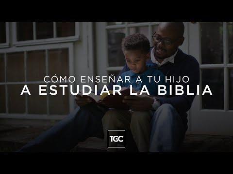 Reflexiones Cristianas - Cómo enseñar a tu hijo a estudiar la Biblia