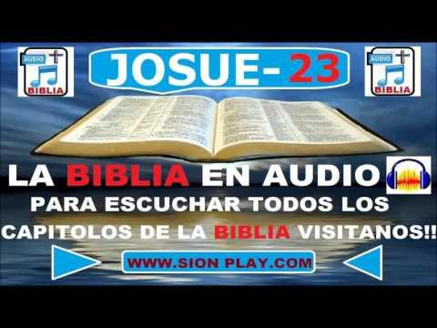La Biblia Audio  (Josue Capitulo 23)